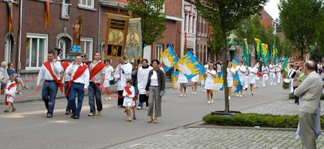Processie Sint-Lenaarts
