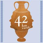 42 kilometer verder.